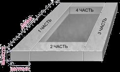 Объем бетона прямоугольника сколько нужно песка в цементные растворы